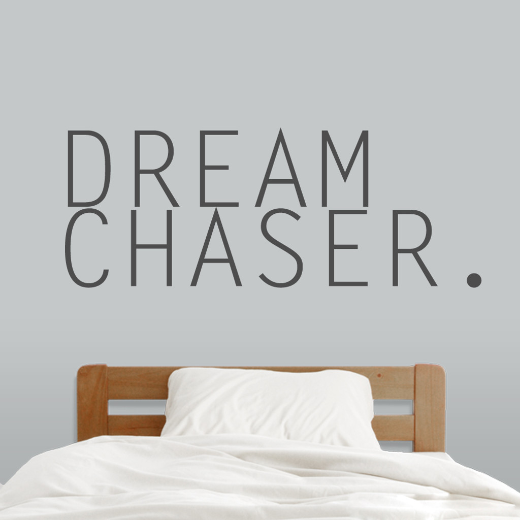 "Dream Chaser Wall Decals 52"" wide x 20"" tall Sample Image"