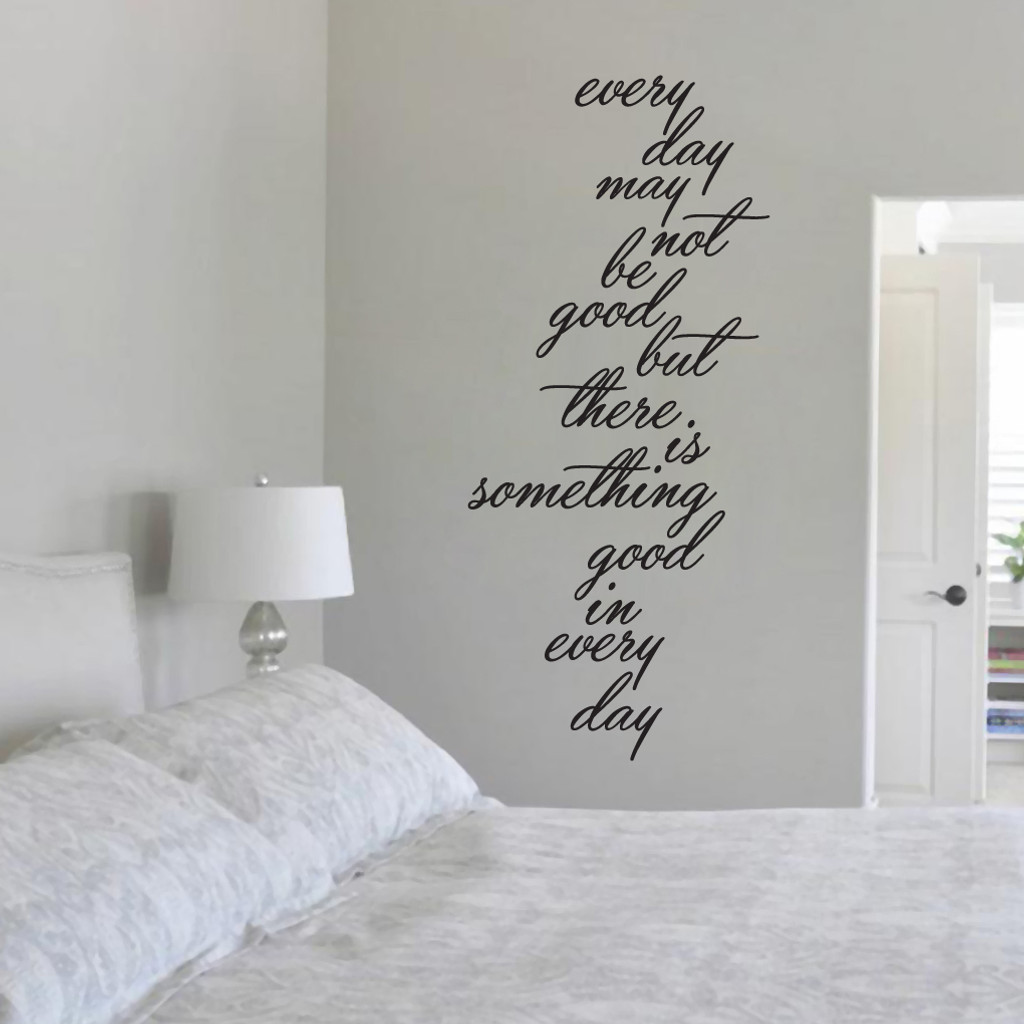 Something Good In Every Day Wall Decals and Wall Stickers