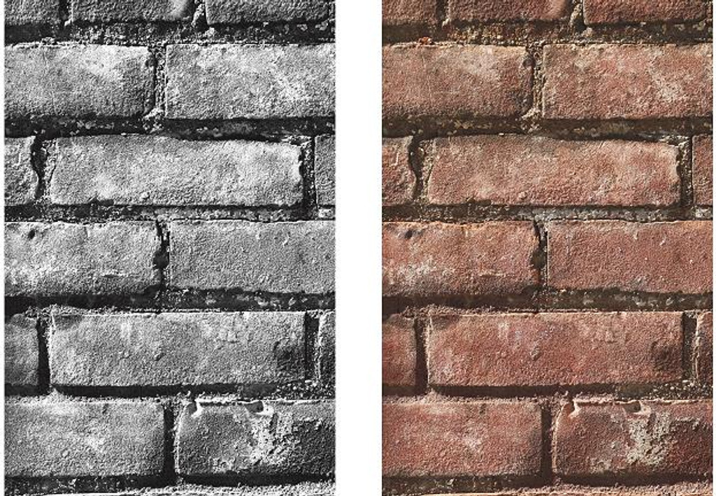Letter Photography - Letter I - Brick Wall Art and Wall Decal Prints