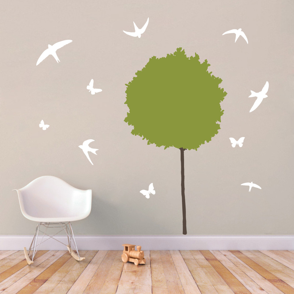 Tree Scene - Wall Decals and Stickers