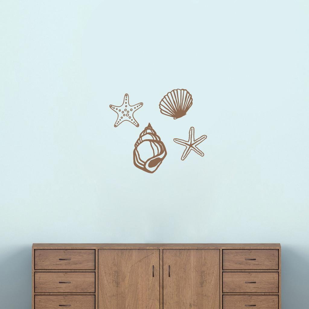 Seashells Wall Decal Set