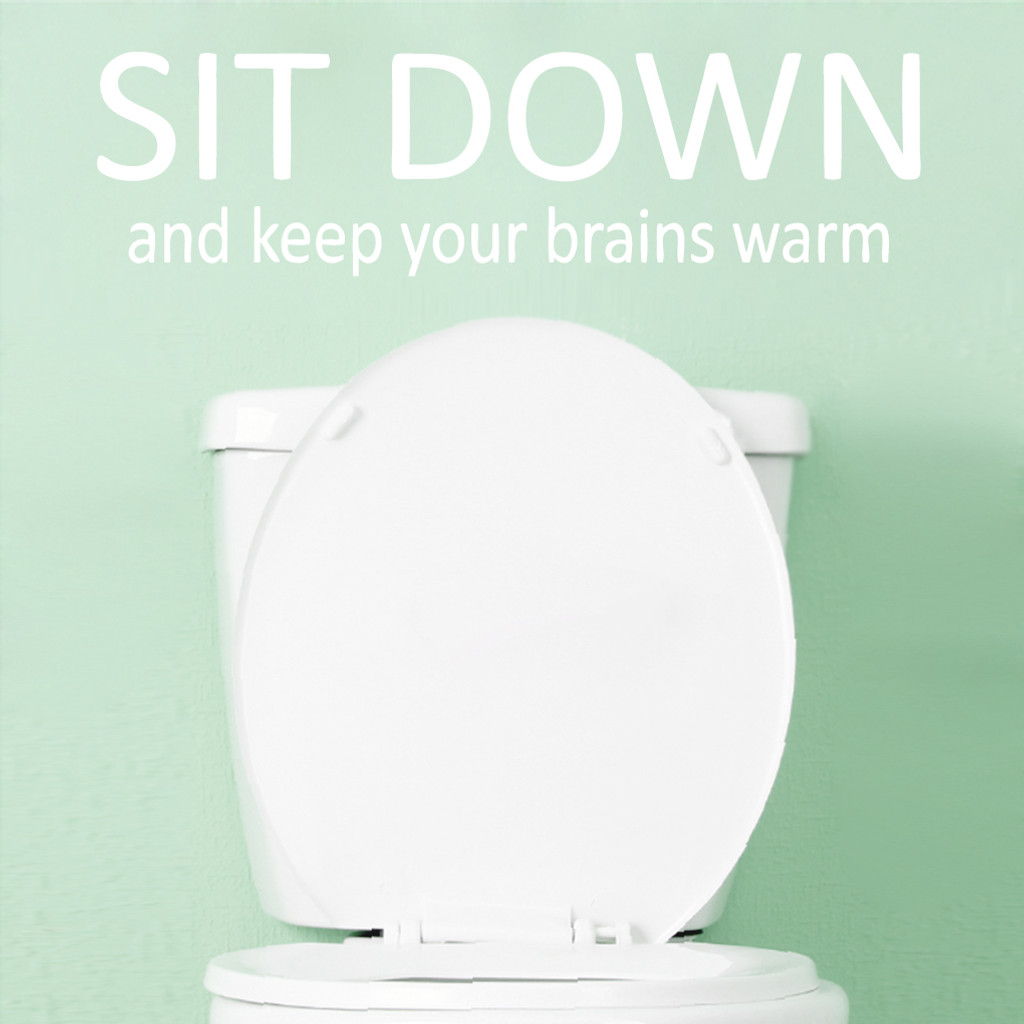 Keep Your Brains Warm Wall Decals and Wall Stickers