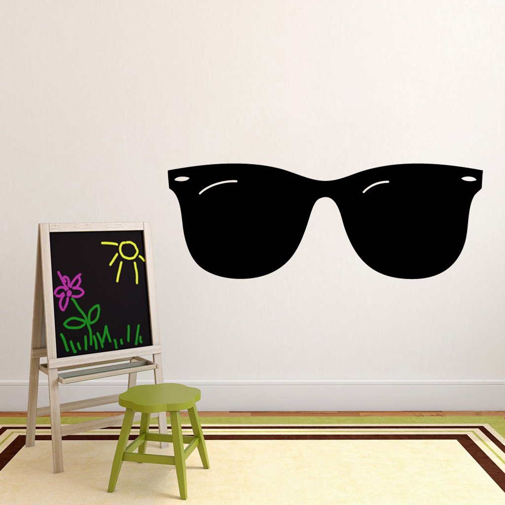 "Sunglasses Wall Decals 60"" wide x 22"" tall Sample Image"