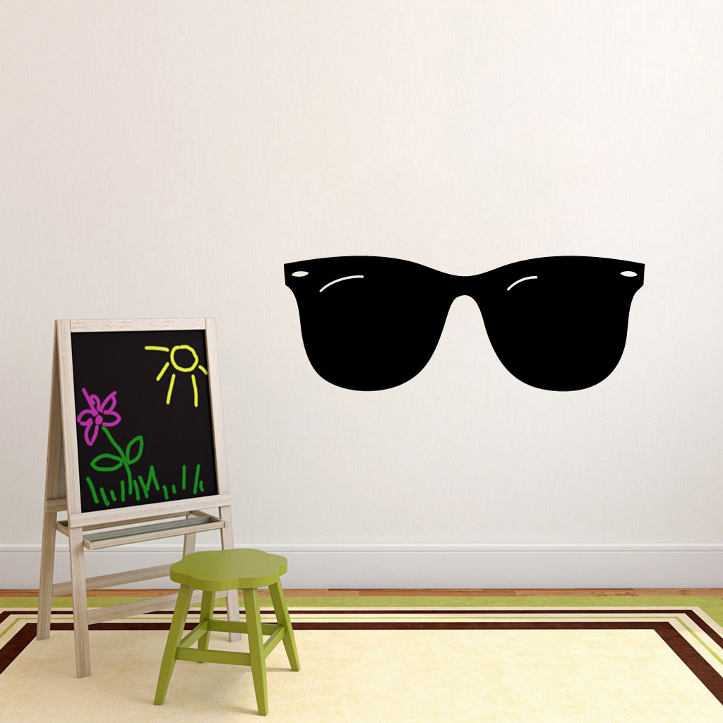 "Sunglasses Wall Decals 48"" wide x 18"" tall Sample Image"