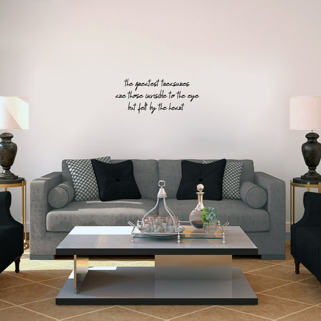 """Greatest Treasures Wall Decals 24"""" wide x 10"""" tall Sample Image"""