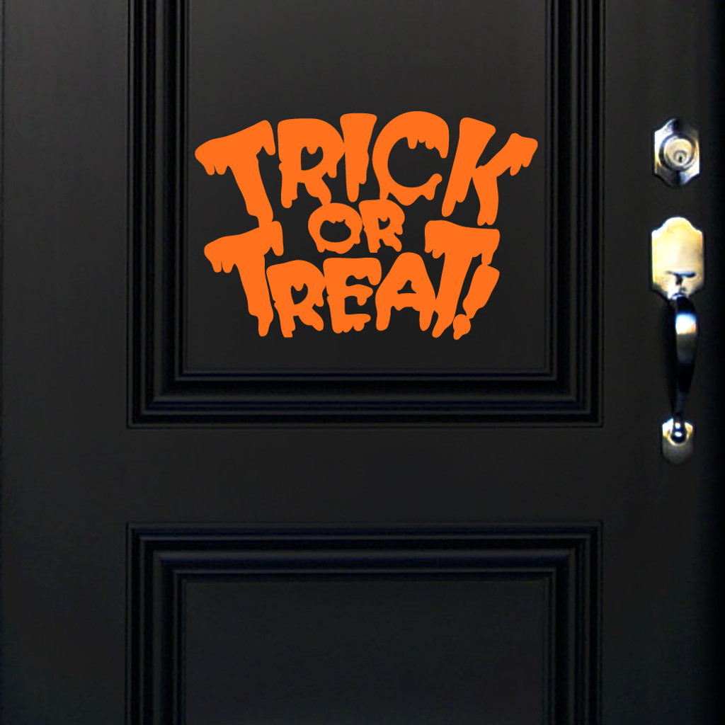 Trick Or Treat Wall Decals and Wall Stickers
