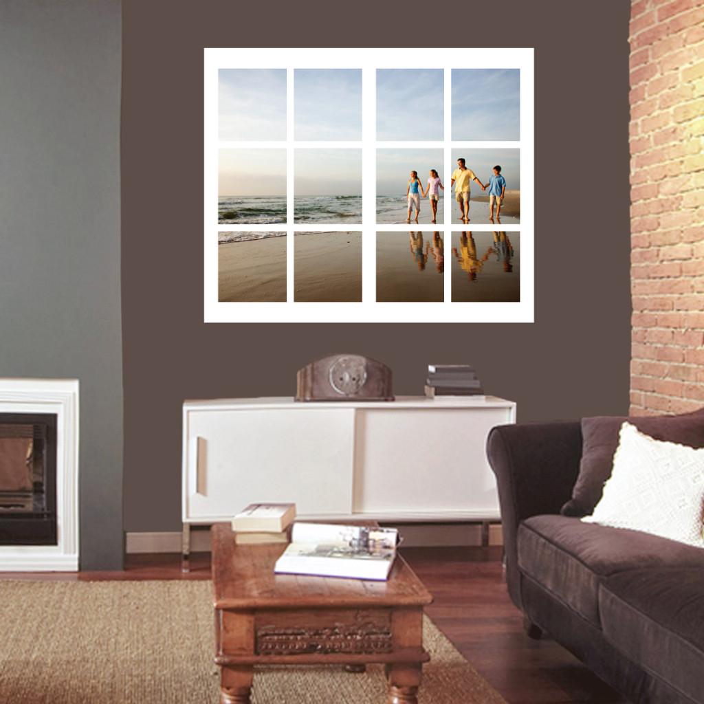 Custom Photo Window Wall Decals