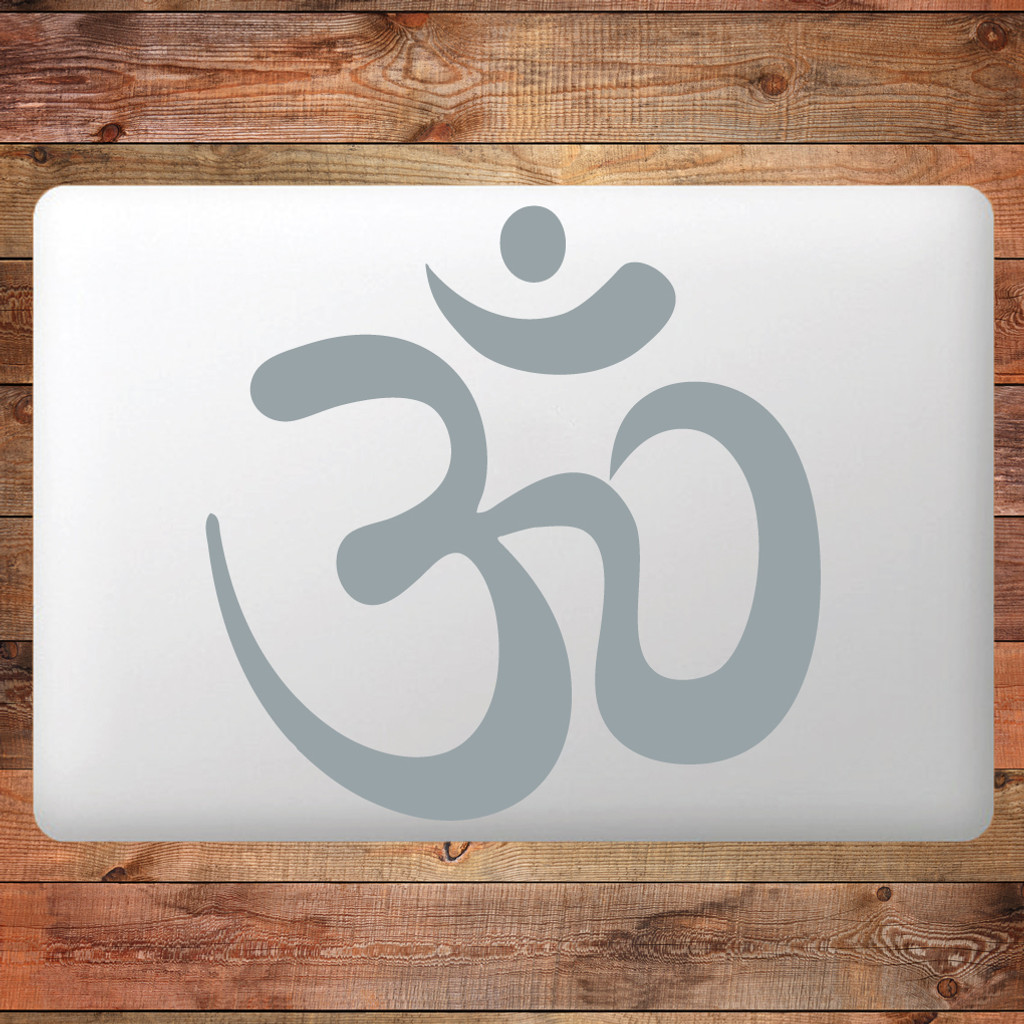 Om Device Decal Water Bottle Sticker