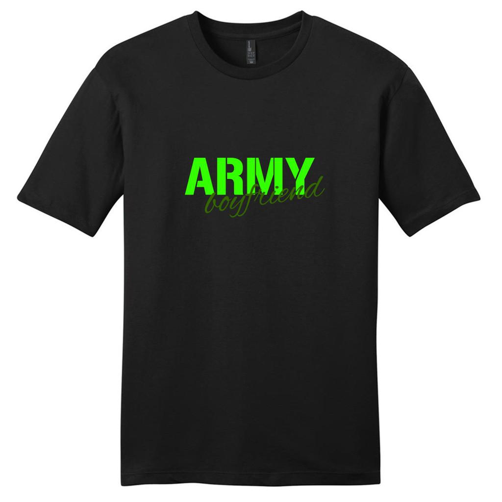 Black Army Boyfriend T-Shirt
