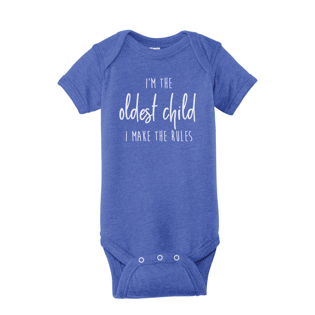 Vintage royal Birth order, oldest child Infant Onesie T-Shirt