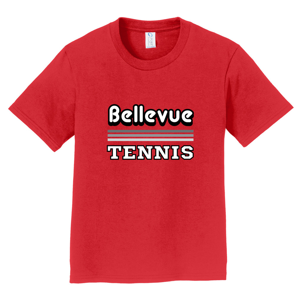2018 Bellevue Tennis Basic Unisex Toddler T-Shirt