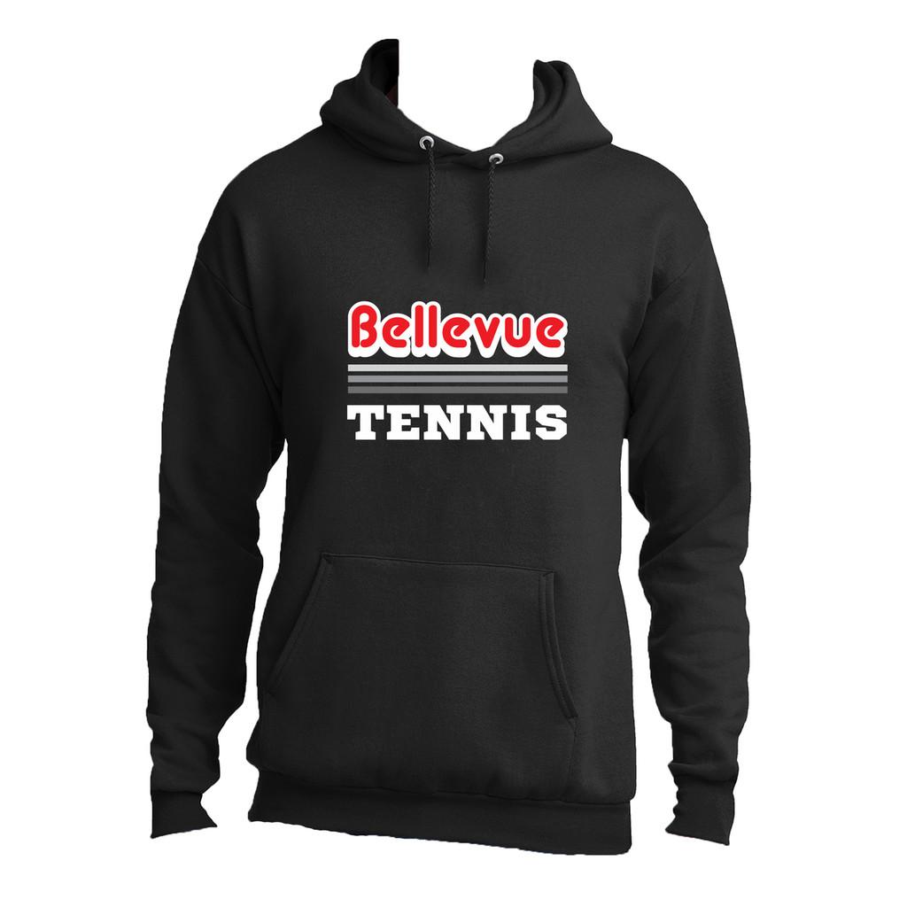 2018 Bellevue Tennis Basic Unisex Hooded Sweatshirt