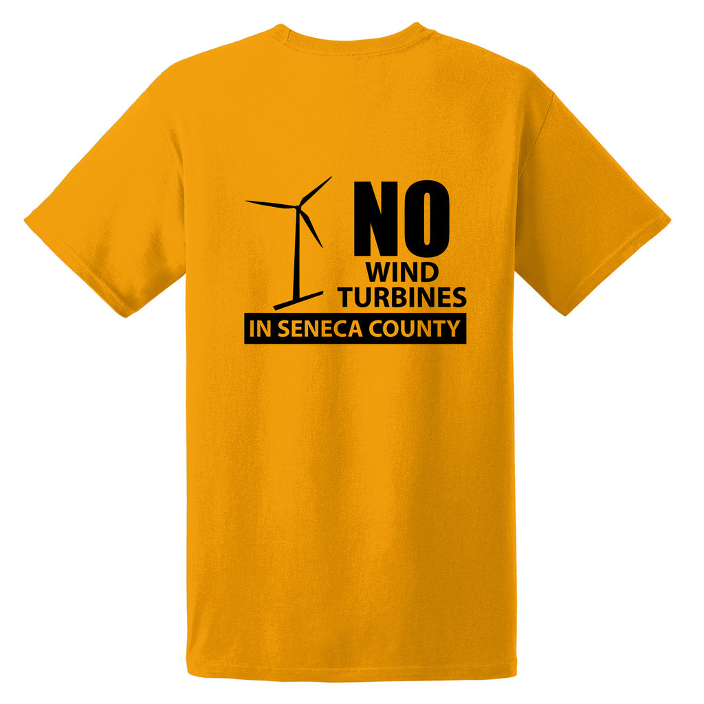 Seneca Anti Wind Union Basic Unisex T-Shirt Back