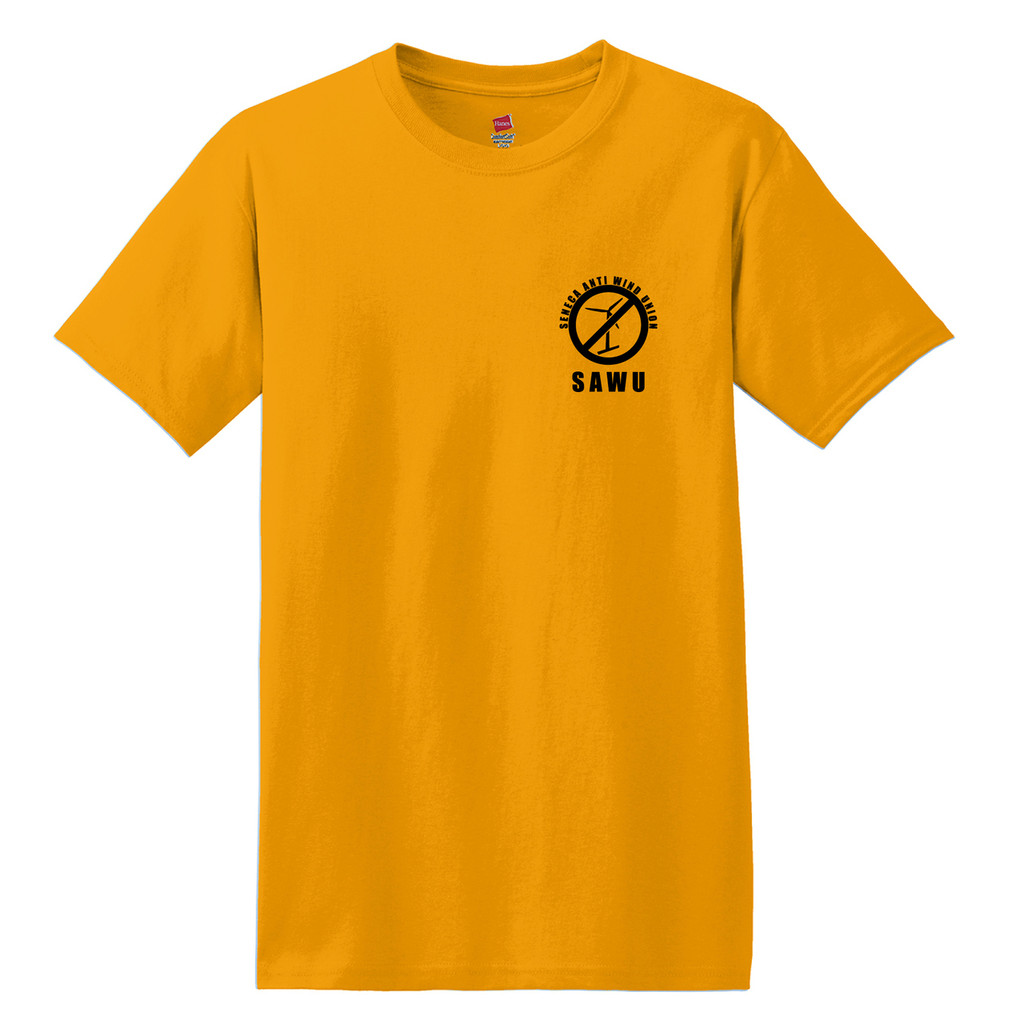 Seneca Anti Wind Union Basic Unisex T-Shirt Front
