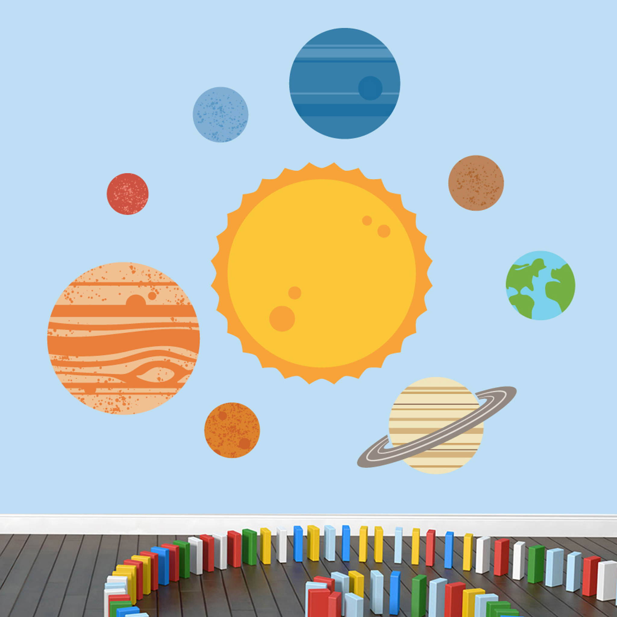 Amazing Solar System Wall Decor Embellishment - Wall Art Ideas ...