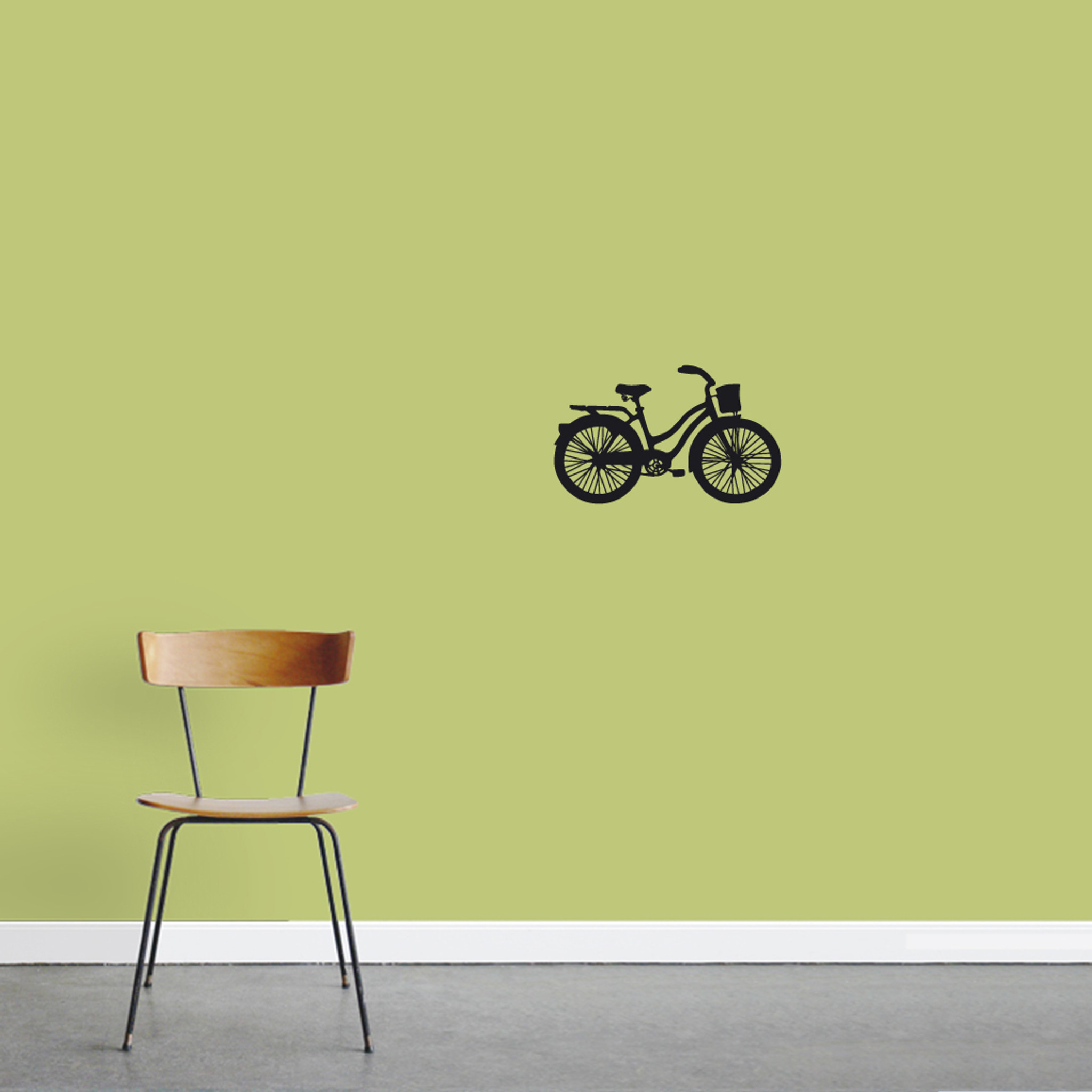 Vintage Cruiser Bike Wall Decals 18  wide x 11  tall S≤ Image : bicycle wall decal - www.pureclipart.com