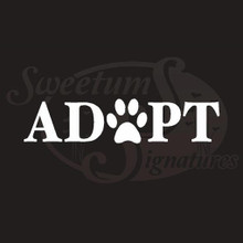 Adopt A Pet Vehicle Decals Stickers