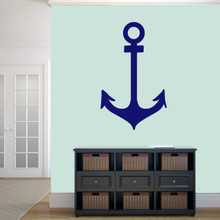 "Anchor Wall Decal 22"" wide x 36"" tall Sample Image"