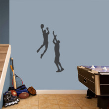 Basketball Guys Set Wall Decals Small Sample Image