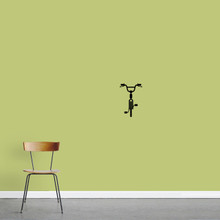 "Bike Wall Decal 8"" wide x 12"" tall Sample Image"