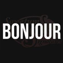 Bonjour Vehicle Decals Stickers