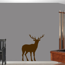 """Buck Wall Decals 30"""" wide x 36"""" tall Sample Image"""