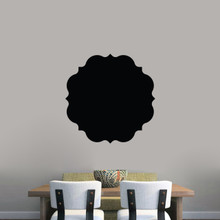 "Chalkboard Badge Wall Decals 23"" wide x 23"" tall Sample Image"
