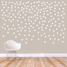 """Confetti Dots Wall Decals 2"""" Confetti Dots Sample Image"""