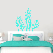 "Coral Reef Wall Decals Wall 48"" wide x 48"" tall Sample Image"