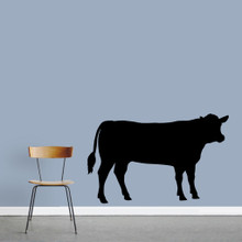 """Cow Wall Decals 60"""" wide x 38"""" tall Sample Image"""