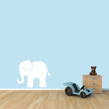 "Elephant Wall Decals 24"" wide x 20"" tall Sample Image"