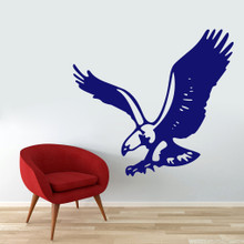 """Flying Eagle Wall Decals 48"""" wide x 44"""" tall Sample Image"""