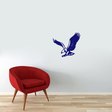 """Flying Eagle Wall Decals 18"""" wide x 16"""" tall Sample Image"""