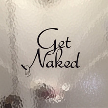 Get Naked Wall Decals Customer Sample Image