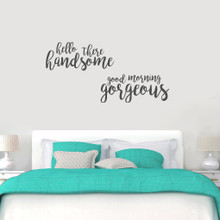 Handsome Gorgeous Wall Decals Large Sample Image