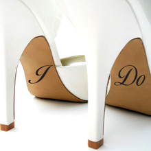 I Do Shoe Decals Wall Stickers