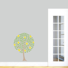 "Lemon Tree Printed Wall Decals 26"" wide x 36"" tall Sample Image"