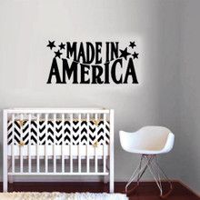 Made In America Wall Decal