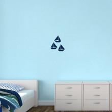 Sailboats Wall Decals Small Sample Image