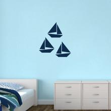 Sailboats Wall Decals Medium Sample Image