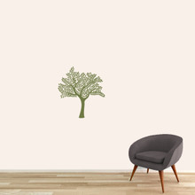 "Shade Tree Wall Decal 22"" wide x 24"" tall Sample Image"