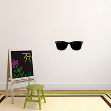 "Sunglasses Wall Decals 24"" wide x 8"" tall Sample Image"