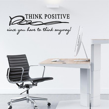 Think Positive Wall Decals and Wall Stickers