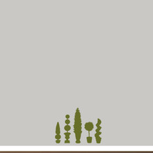 Topiaries Wall Decals Small Sample Image