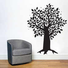 Tree With Leaves - Wall Decals and Stickers