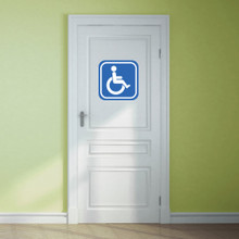 Handicapped Sign Wall Decals and Stickers