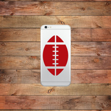 Football Device Decals Water Bottle Sticker
