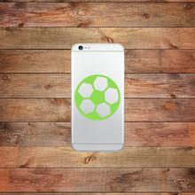 Soccer Ball Device Decal Water Bottle Sticker