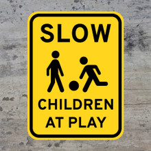 Slow Children At Play Wall Decal