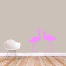 Flamingos Wall Decals Medium Sample Image